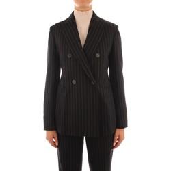 Ruhák Női Kabátok / Blézerek Maxmara Studio SOLEDAD BLACK