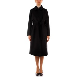 Ruhák Női Kabátok Maxmara Studio BCOLLAG BLACK