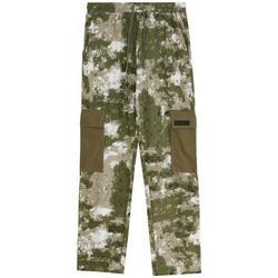 Ruhák Férfi Oldalzsebes nadrágok Sixth June Pantalon  Cargo Camouflage vert camouflage