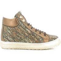Cipők Gyerek Magas szárú edzőcipők Alberto Guardiani GK22950G Barna