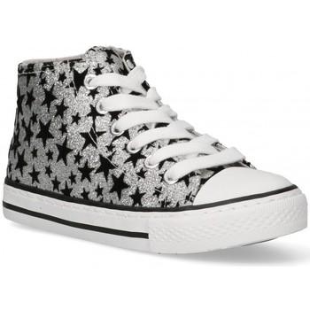 Cipők Lány Magas szárú edzőcipők Bubble 58906 Ezüst