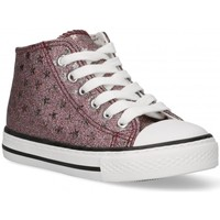 Cipők Lány Magas szárú edzőcipők Bubble 58907 Rózsaszín