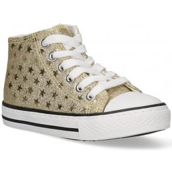 Cipők Lány Magas szárú edzőcipők Bubble 58908 Arany