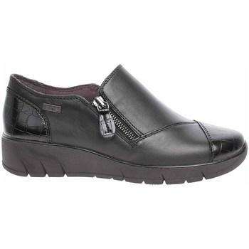 Cipők Női Mokkaszínek Jana 882460027055 Fekete