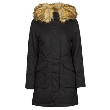 Ruhák Női Parka kabátok Betty London PATISSON Fekete