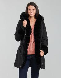 Ruhák Női Parka kabátok Betty London PATISSA Fekete