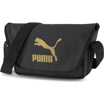 Táskák Oldaltáskák Puma Messenger Fekete
