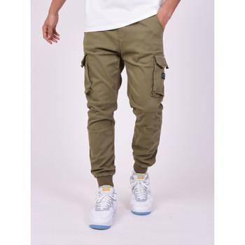 Ruhák Férfi Oldalzsebes nadrágok Project X Paris Jeans Style Cargo Projet X Paris khaki