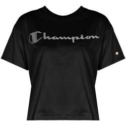 Ruhák Női Rövid ujjú pólók Champion  Fekete