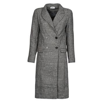 Ruhák Női Kabátok Betty London PIXIE Fekete  / Szürke