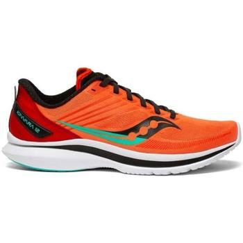 Cipők Férfi Oxford cipők & Bokacipők Saucony Kinvara 12 Narancssárga