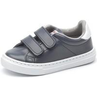Cipők Lány Rövid szárú edzőcipők Cienta Chaussures fille  Deportivo Scractch Piel bleu marine