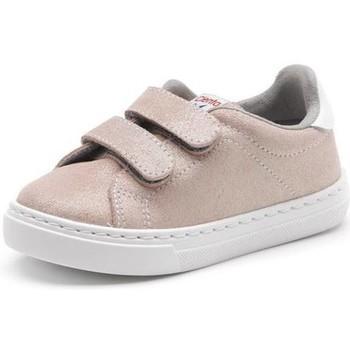 Cipők Lány Divat edzőcipők Cienta Chaussures fille  Deportivo Scractch Glitter rose