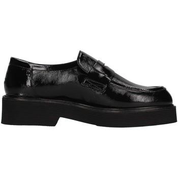 Cipők Női Mokkaszínek Triver Flight 482-06 BLACK