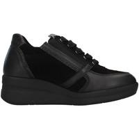 Cipők Női Magas szárú edzőcipők Melluso R25623A BLACK