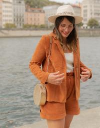Ruhák Női Kabátok / Blézerek Céleste SASSAFRAS Teve
