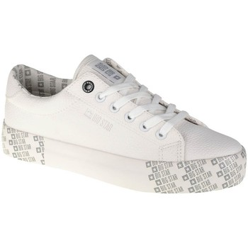 Cipők Női Rövid szárú edzőcipők Big Star II274181 Fehér
