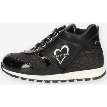 Cipők Lány Magas szárú edzőcipők Café Noir C1530 Black