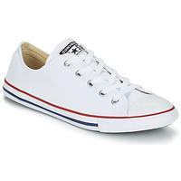 Cipők Női Rövid szárú edzőcipők Converse ALL STAR DAINTY OX Fehér / Piros