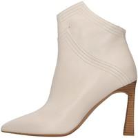 Cipők Női Bokacsizmák Albano 1007A WHITE