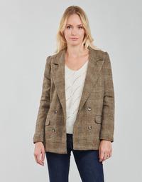 Ruhák Női Kabátok / Blézerek Betty London PANOPI Barna