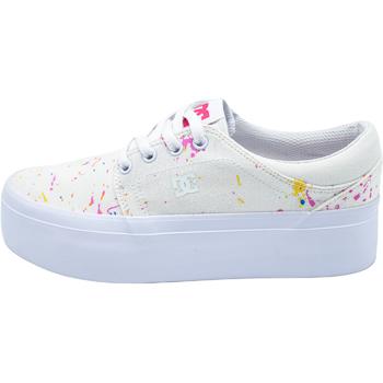 Cipők Női Rövid szárú edzőcipők DC Shoes Trase Fehér