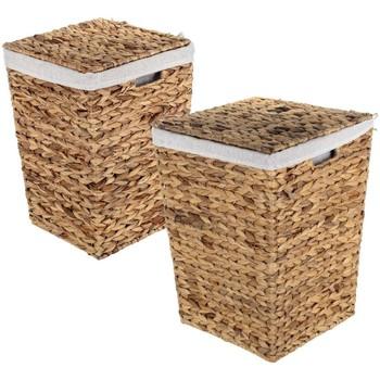 Otthon Kosarak és dobozok Signes Grimalt C Sta Set 3 U Marrón