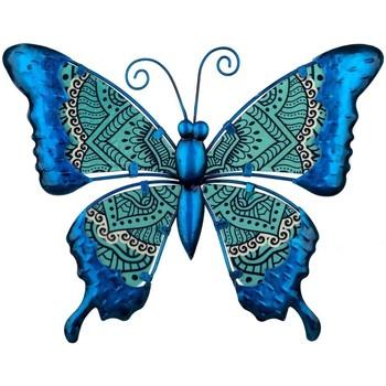 Otthon Szobrok, figurák Signes Grimalt Pillangó Ábra Azul