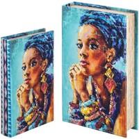 Otthon Rekeszek és tárolók Signes Grimalt Könyvdoboz Set 2 U Azul