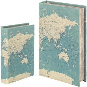 Otthon Rekeszek és tárolók Signes Grimalt Könyvdoboz Set 2 U Verde