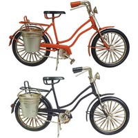Otthon Szobrok, figurák Signes Grimalt Kerékpár Set 2 U Multicolor