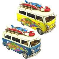 Otthon Szobrok, figurák Signes Grimalt Busz Set 2 U Multicolor