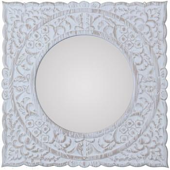 Otthon Tükrök Signes Grimalt Tükör Blanco