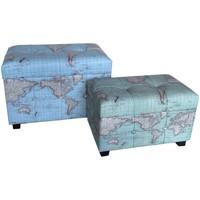 Otthon Rekeszek és tárolók Signes Grimalt Set 2 Világtörzs Azul