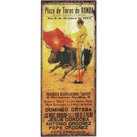 Otthon Poszterek, plakátok Signes Grimalt Fali Lemezek Bullring Marrón