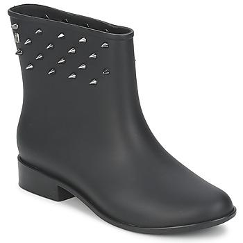 Cipők Női Csizmák Melissa MOON DUST SPIKE Fekete