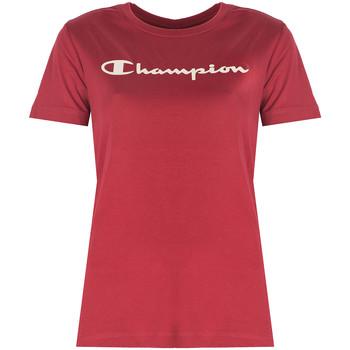 Ruhák Női Rövid ujjú pólók Champion  Piros
