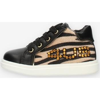 Cipők Lány Magas szárú edzőcipők 4Us Paciotti 4U131 Black