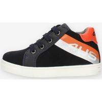 Cipők Fiú Magas szárú edzőcipők 4Us Paciotti 4U141 Blue