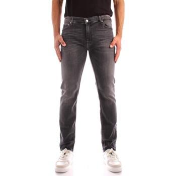 Ruhák Férfi Slim farmerek Calvin Klein Jeans K10K106564 BLACK
