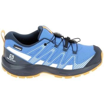 Cipők Gyerek Futócipők Salomon Xa Pro V8 Jr CSWP Bleu Kék