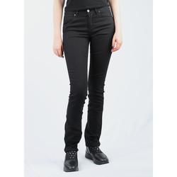 Ruhák Női Slim farmerek Wrangler Caitlin Slim Leg W24CBI33L czarny