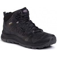 Cipők Női Túracipők Keen Terradora II Mid WP Fekete