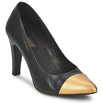 Cipők Női Félcipők Pastelle AMELINE Fekete