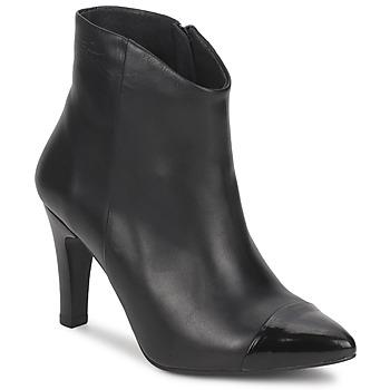 Cipők Női Bokacsizmák Pastelle ARIEL Fekete
