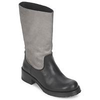 Cipők Női Városi csizmák Pastelle PETULA Ezüst-fekete
