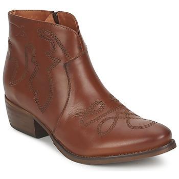 Cipők Női Csizmák Pastelle JANE Teve