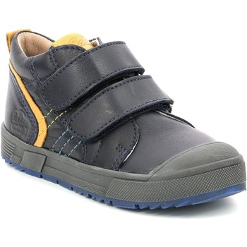 Cipők Gyerek Magas szárú edzőcipők Aster Chaussures enfant  Biboc bleu marine