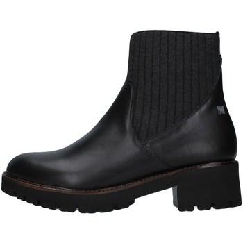 Cipők Női Csizmák CallagHan 13436 BLACK