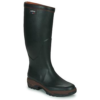 Cipők Férfi Gumicsizmák Aigle PARCOURS 2 Zöld